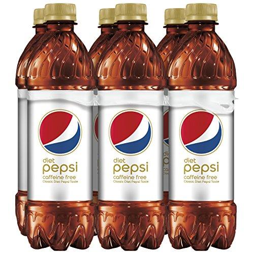 Diet Pepsi, Caffeine Free, 16.9 ounce Bottles, 6 Count