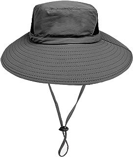 comprar comparacion Sombrero de Sol al Aire Libre - 50UV protección Solar de Ancho Borde Sombrero de Nylon - Secado rápido Impermeable Sombrer...