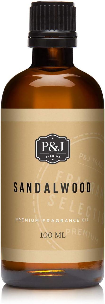 PJ Trading Sandalwood Fragrance Oil for Ranking TOP13 Mak Making New York Mall Soap Candle