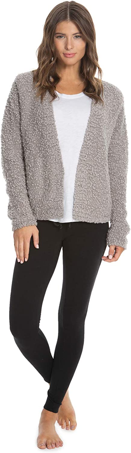Barefoot Dreams Boucle Cardi, Women Long Sleeve Cardi, Open Front Oversized Sweaters