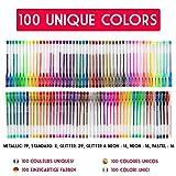 Zoom IMG-1 100 penne gel colorate zenacolor