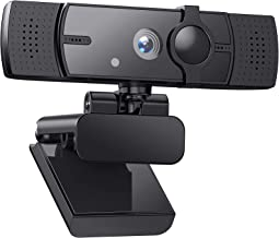 Webcam 2K HD Streaming Camera with Microphone with Privacy Shutter and Tripod, for PC Video Conferencing/Calling/Gaming/La...