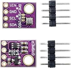 Diymore 2pcs BME280 Digital 5V Temperature Humidity Sensor Barometric Pressure Sensor Module with IIC I2C Breakout for Arduino