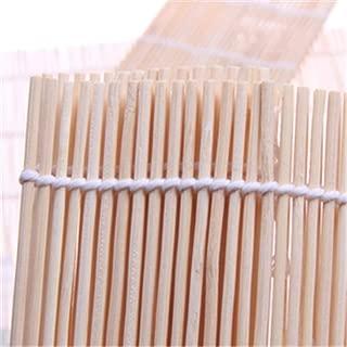 Xeminor Bamboo Sushi Rolling Kit Sushi Rolling Mat Kitchen Roll-Up Sushi Mat for Creating Homemade Sushi Rolls 1 Pcs