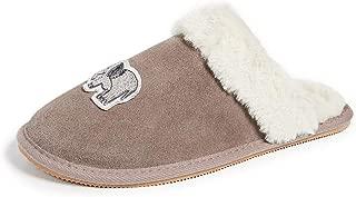 Womens Elephant Cozy Slipper