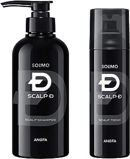 [Amazonブランド]SOLIMO スカルプD  シャンプー 350ml & 育毛トニック 180ml セット