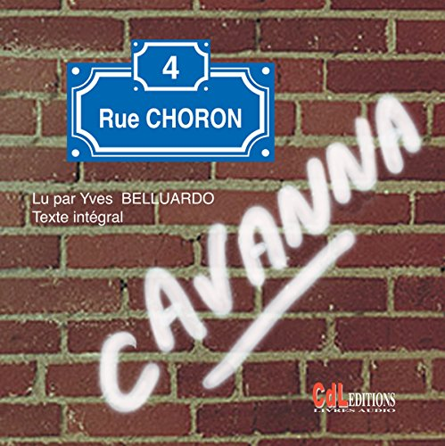 4, rue Choron audiobook cover art