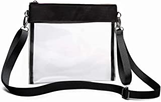 Clear Purse, iSPECLE Clear Bag Stadium Approved, Shoulder Strap and Wrist Strap