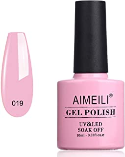 AIMEILI Soak Off UV LED Gel Nail Polish - Cake Pop (019) 10ml