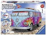 Ravensburger- Puzzle 3D Furgoneta Volkswagen Summer 162 Piezasz, Color carbón...