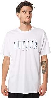 Huffer Men's Mast Mens Tee Short Sleeve Cotton White