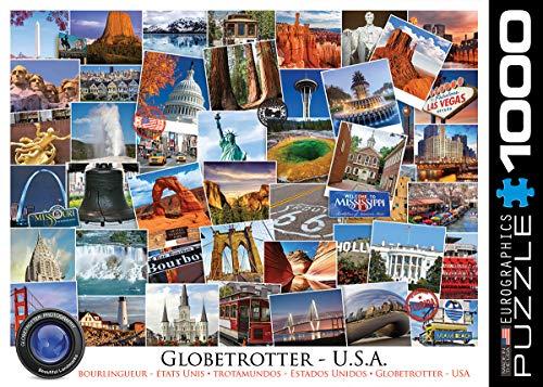 Eurographics 1000 Teile - Globetrotter USA