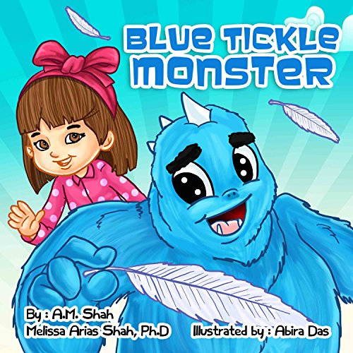 Blue Tickle Monster audiobook cover art