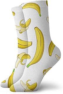 Dydan Tne, Banana Dress Socks Funny Socks Crazy Socks Calcetines Casuales para niñas niños