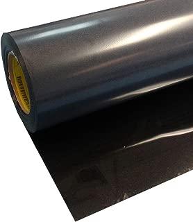 Siser Easyweed Stretch Iron on Heat Transfer Vinyl Roll Coaches World,Stretch Black,15