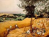 Feeling at home Imagen sobre Lienzo con Caja Americana los segadores Bruegel The Elder Impresion enmarcada con Marco Europeo Horizontal 64_X_84cm