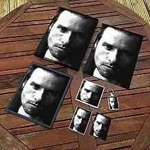 Guy Pearce - Original Art Gift Set #js001 (Includes - A4 Canvas - A4 Print - Coaster - Fridge Magnet - Keyring - Mouse Mat - Sketch Card)