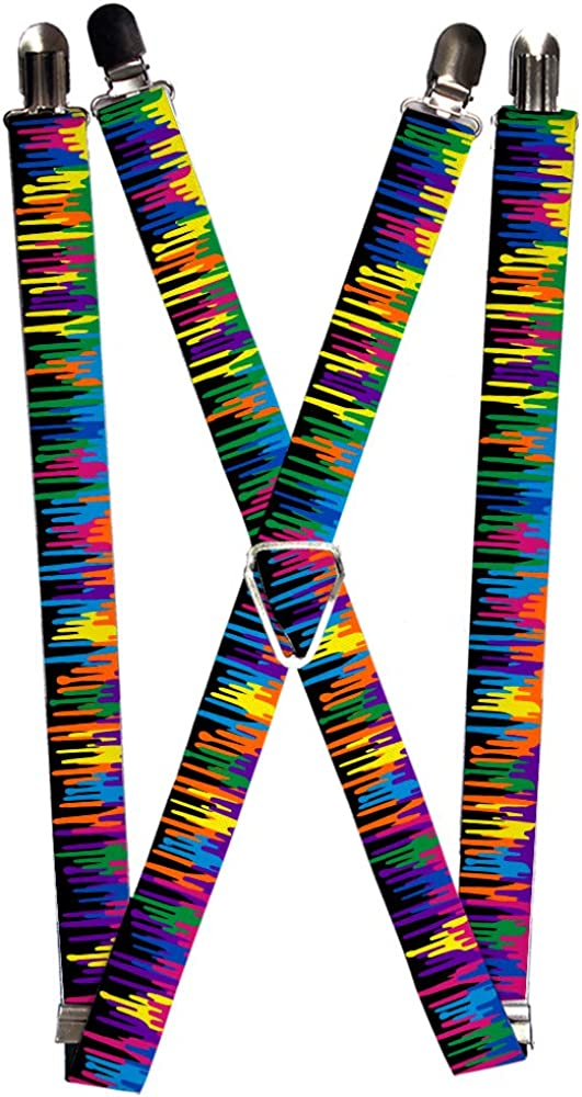 Buckle-Down Suspender - Paint Drips