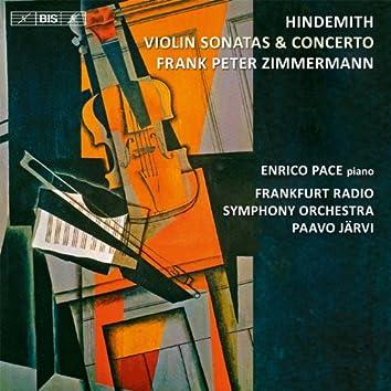 Hindemith: Violin Sonatas & Concerto