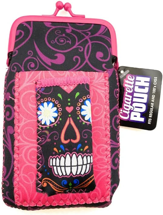 Fun Colorful Neoprene Cigarette Pouch Ranking TOP14 with Lighter Holder Sty Max 48% OFF
