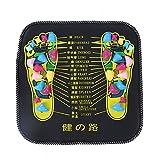 Stone Foot Massager Mat, Reflexology Foot Massager Mat For Pain Relief Stone Foot Mat with Square Shape