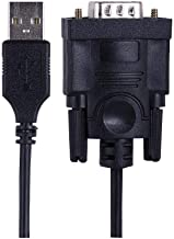 Staples 2093905 1-Ft USB to Serial Adapter Black