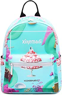 Small Lightweight Waterproof Mini Backpack Purse Nylon Casual Travel Daypack for Women(Turquoise One Size)