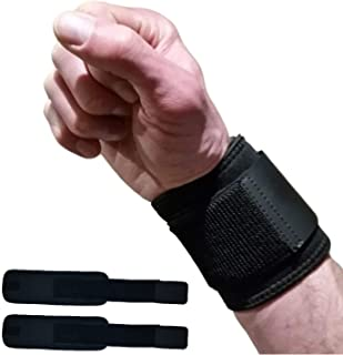 Wrist Wraps for Wrist Support - Wrist Compression for Tendonitis, Arthritis & Carpal Tunnel Relief. Great Alternative to a...