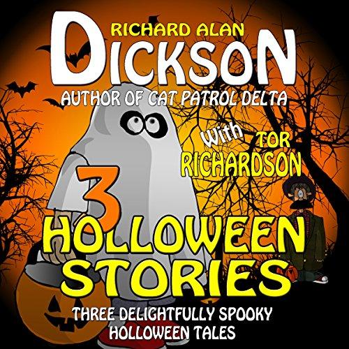 3 Halloween Stories audiobook cover art