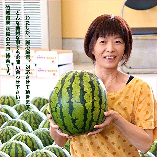 山形県産尾花沢すいか1玉入り(秀品/1玉約8kg)