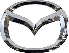 Coolsport Car Front Grille Emblem for Mazda 2, 3, 5, 6 / MazdaSpeed 6 Auto Vehicle ABS Plastic Head Grill Badge Sticker (OEM C235-51-731)
