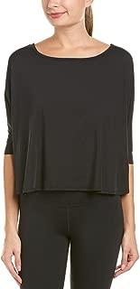 Splendid Women's Activewear Yoga Short Sleeve Crop Top