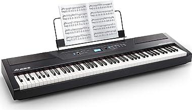 Alesis 88鍵盤 電子ピアノ ハンマーアクション鍵盤 Recital Pro ブラック