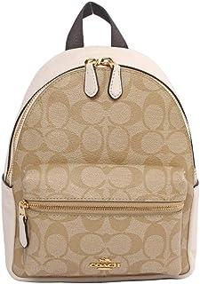 Coach F58315 Mini Charlie Backpack In Signature