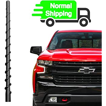 Internal Copper Coil - Car Wash Proof Short Rubber Antenna German Engineered Premium Reception AntennaMastsRus The Original 6 3//4 Inch is Compatible with GMC Envoy 2002-2005