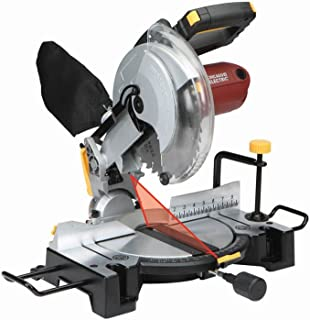 10 Inch Compound Miter Saw with Laser Guide System Bevel 45 deg. left/right