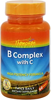 Thompson - B Complex with C 60 Tabs