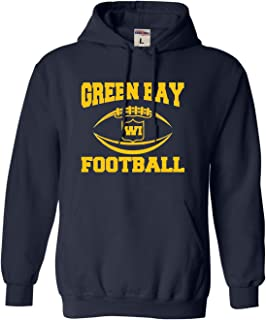Adult and Youth City of Green Bay Wisconsin Football Sweatshirt Hoodie