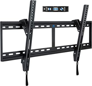 Mounting Dream Tilt TV Wall Mount Bracket for 42-84 Inch LED, LCD Flat Screen TVs, TV Mount up to VESA 800 mm and 132 LBS, One-Piece Wall Plate Easy for TV Centering on 16''~32'' Wood Studs MD2268-XL