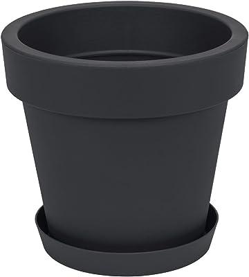 Spetebo XXL Pflanzkübel - Ø 58 cm - Kunststoff Blumenkübel groß ...