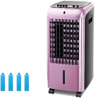 Unknow Ventilador portátil Individual de Aire Acondicionado frío, Enfriador de Aire móvil con deshumidificador Refrigeradores evaporativos Hogar Dormitorio-púrpura