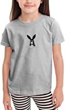 Children's T-Shirt, Aria-na Dangerous Woman Gran-de Pattern Shirt Short Sleeve Cotton Graphic Tee for Girls Boys Kids