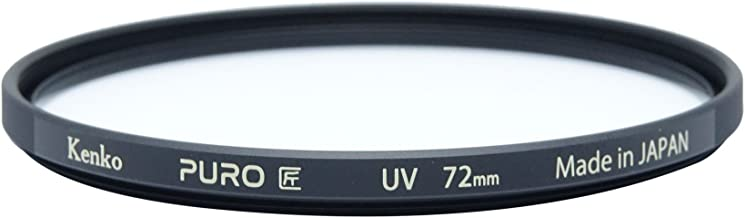 Kenko Puro Wide Angle Slim Ring 72mm Multi-Coated UV Filter, Clear (227258)