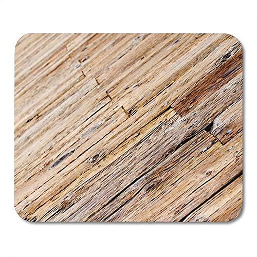 Mausemat Holzpromenade Holzplanke Bodendeck Mousepad Office Mousepad Bunte Mausmatte Spiel 25 X 30Cm Gedruckte Rutschfeste Arbeit Sonderschule