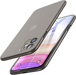 TOZO for iPhone 11 Case 6.1 inch(2019), Ultra Thin Hard Cover [0.35mm] World's Thinnest Protect Bumper Slim Fit Shell [ Se...