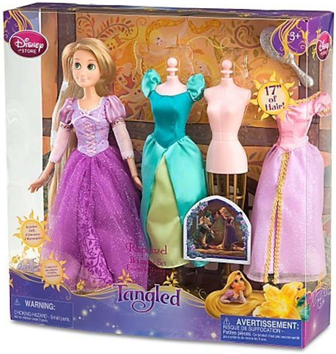Disney Tangled Rapunzel Boutique Set -- 7-Pc. by Disney