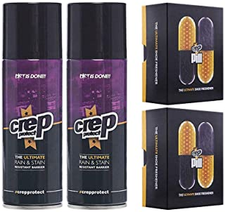 Crep Protect Pill The Ultimate Shoe Freshener and Ultimate Rain & Stain Spray