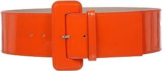 8d7030ccc beltiscool Women's High Waist Wide Plain Leather Belt