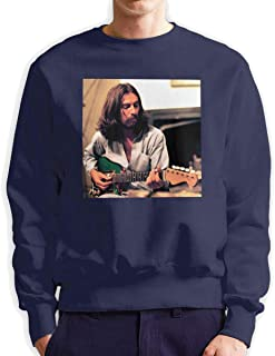 George Harrison Men's George Harrison Fashion Crewneck Hoodie Sweatshirt