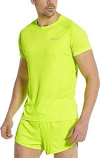 Men's Quick Dry Short Sleeve T-Shirt Running Workout Shirts